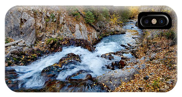 River In Autumn IPhone Case