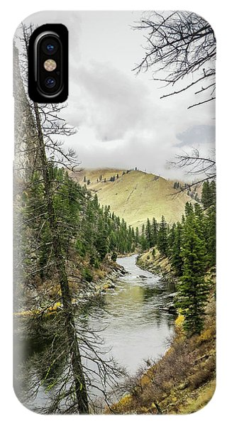 River In The Canyon IPhone Case