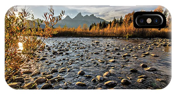 River In The Tetons IPhone Case
