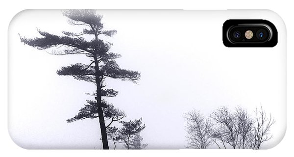 Shrouds iPhone Case - River Islands In Fog by Olivier Le Queinec