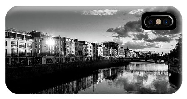 River Liffey IPhone Case