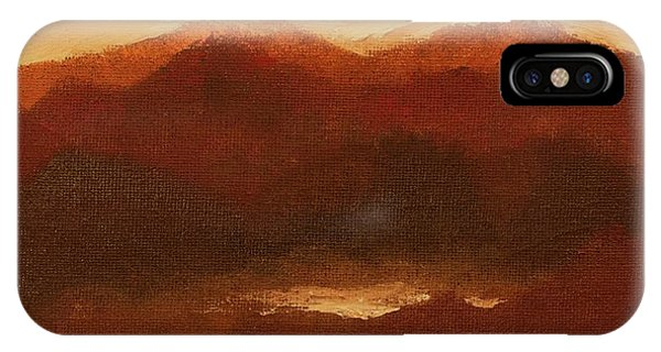 River Mountain View IPhone Case