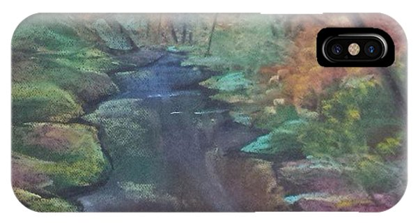 River In The Fall IPhone Case