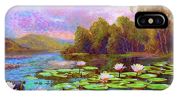 Waterlily iPhone Case - The Wonder Of Water Lilies by Jane Small