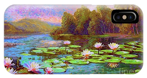 Lily iPhone Case - The Wonder Of Water Lilies by Jane Small