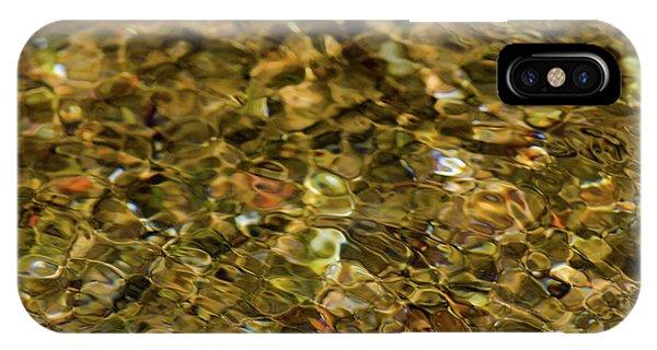 River Pebbles IPhone Case