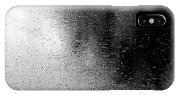 River Rain  Naperville Illinois IPhone Case