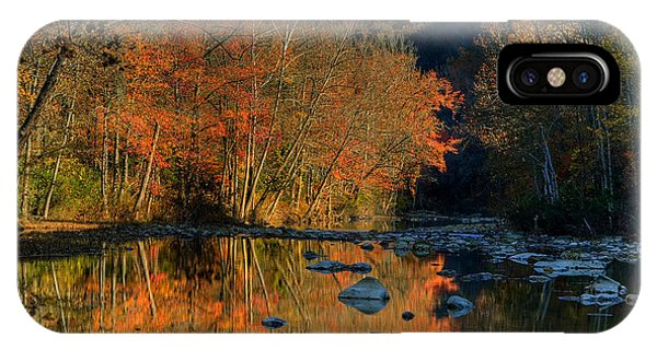 River Reflection Buffalo National River At Ponca IPhone Case