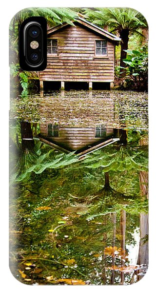 Greenery iPhone Case - River Reflections by Az Jackson
