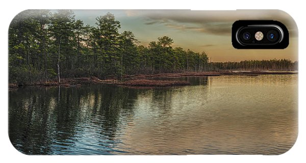 River Reflections On The Mullica River IPhone Case