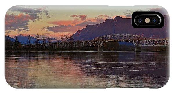 Fraser River, British Columbia IPhone Case