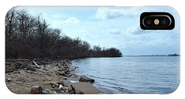 Delaware River Shoreline IPhone Case