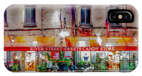 River Street Sweets Candy Store Savannah Georgia   IPhone Case