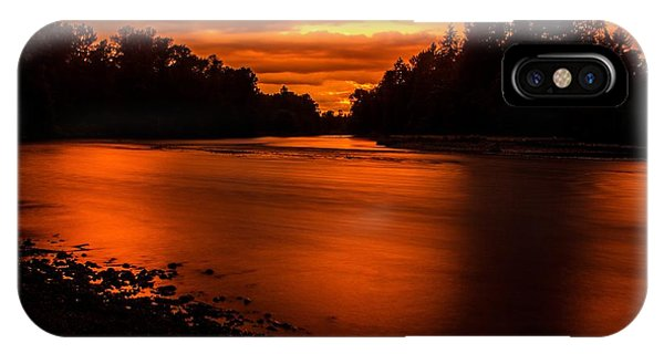 River Sunset 2 IPhone Case