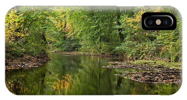 River Teign On Dartmoor IPhone Case