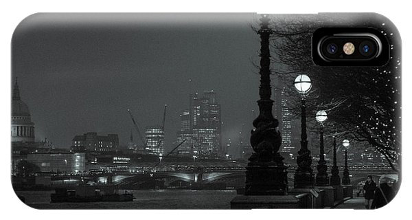 River Thames Embankment, London 2 IPhone Case