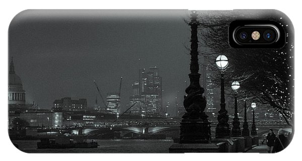 River Thames Embankment, London 2 IPhone Case