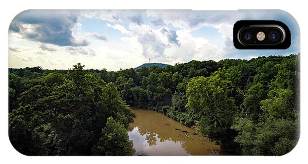 River View From Above IPhone Case