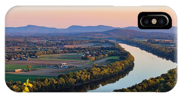 IPhone Case featuring the photograph Connecticut River View  by Sven Kielhorn