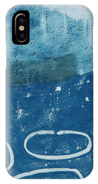 Contemporary iPhone Case - River Walk 3- Art By Linda Woods by Linda Woods