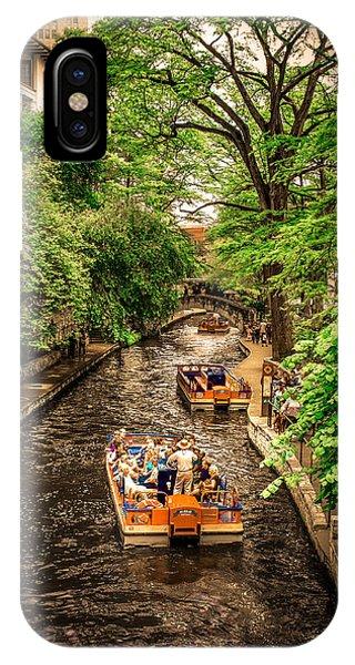Umbrella Pine iPhone Case - River Walk  by Art Spectrum