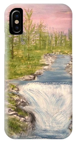 River With Falls IPhone Case