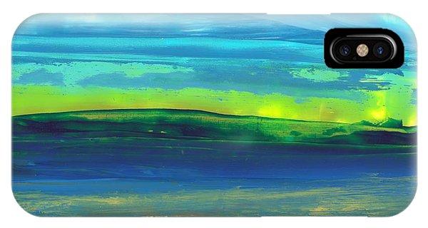 Riverbank Green IPhone Case