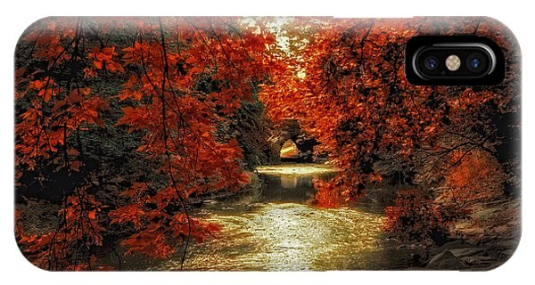 Riverbank Red IPhone Case