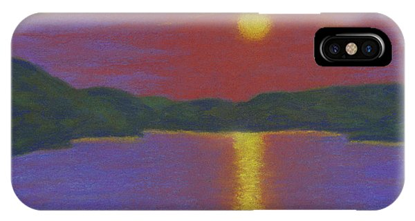 Riverboat Sunset IPhone Case