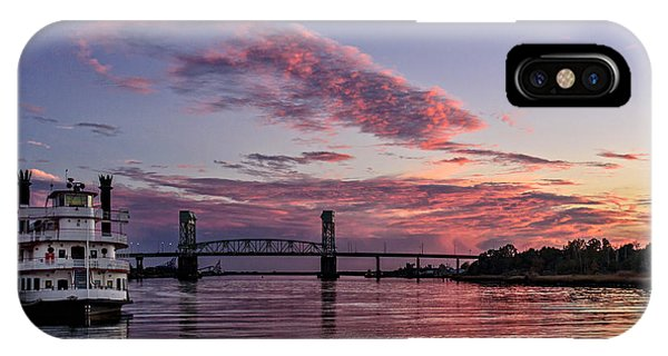 Cape Fear Riverboat IPhone Case