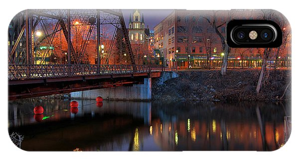 Riverplace Minneapolis Little Europe IPhone Case