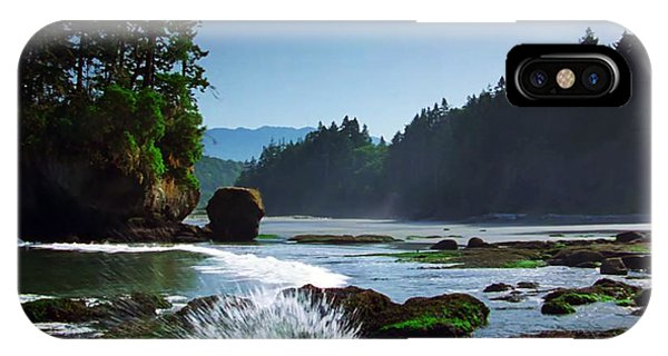 Rivers And Lakes Around Olympic National Park America IPhone Case