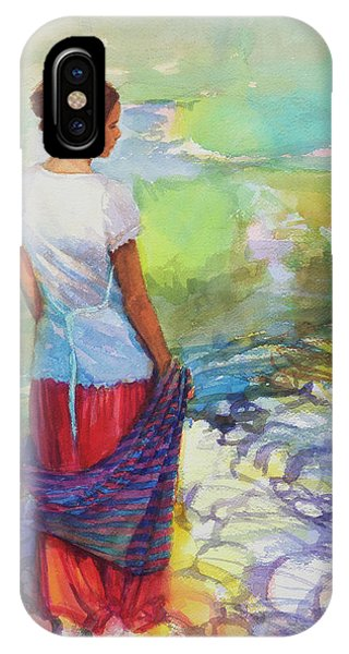 Nature Abstract iPhone Case - Riverside Muse by Steve Henderson