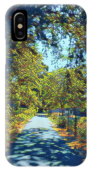 Riverside Park IPhone Case