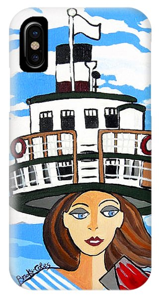 R.m.s. Segwun - Delivering The Mail  IPhone Case