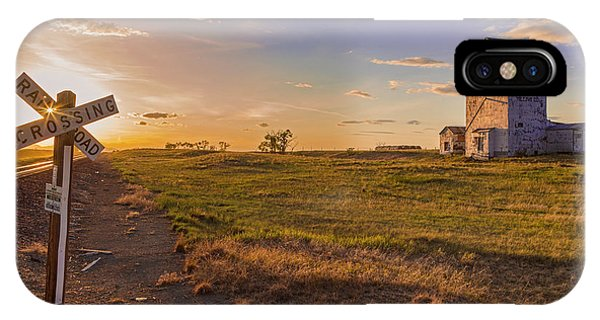End Of The Day On The Montana Hi Line IPhone Case