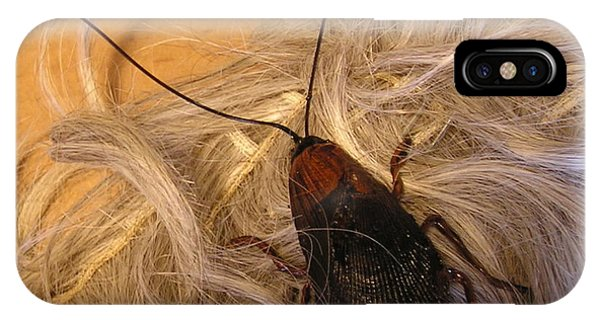 Roach Hair Clip IPhone Case
