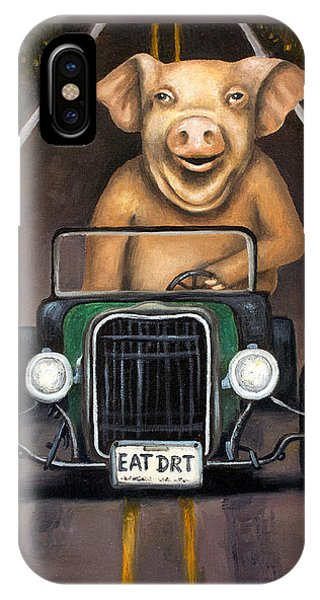 Road Hog IPhone Case