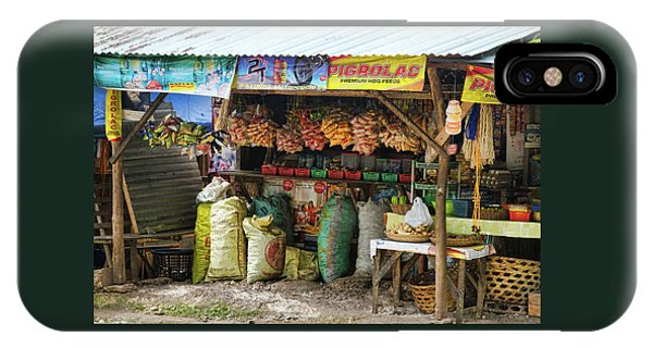 Road Side Store Philippines IPhone Case