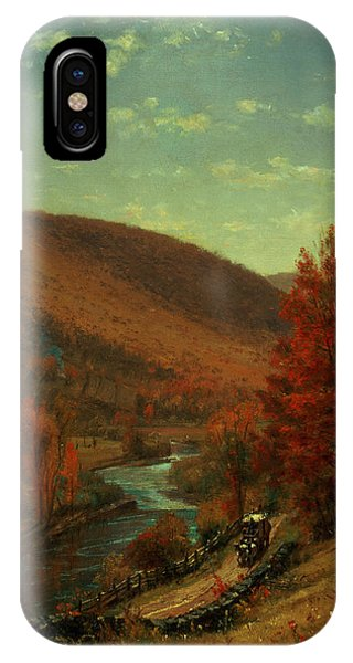 Road Through Belvedere IPhone Case