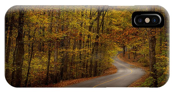 Road Through Tishomingo State Park IPhone Case