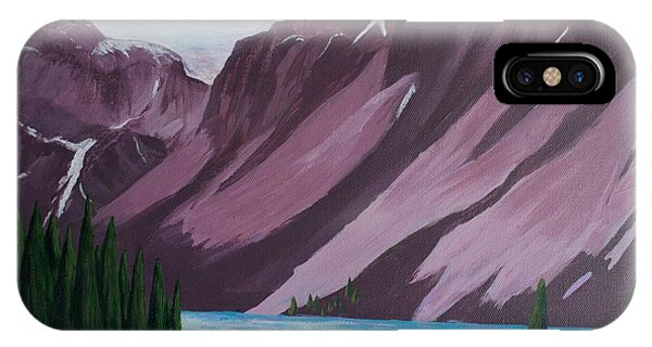Road To Banff IPhone Case