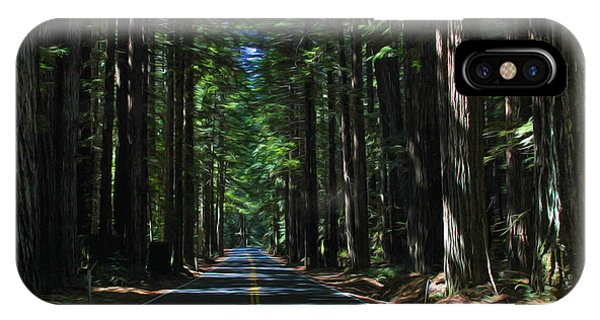 Road To Mendocino IPhone Case