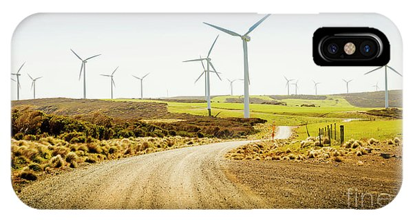 Energy iPhone Case - Road To Natural Energy by Jorgo Photography - Wall Art Gallery