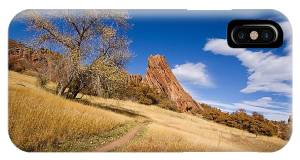 Road To The Rocky Blue Phone Case by Andrew Serff