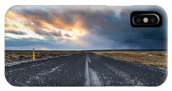 Road To The Sky IPhone Case