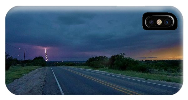Road To The Storm IPhone Case