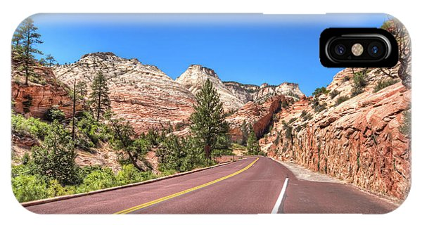 Road To Zion IPhone Case