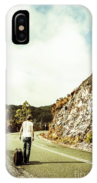 Trip iPhone Case - Road Tripping Tasmania by Jorgo Photography - Wall Art Gallery