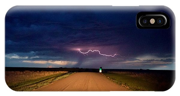 Road Under The Storm IPhone Case